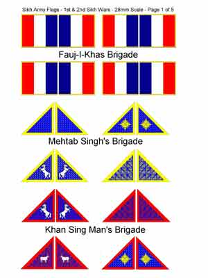 Tmp Sikh Wars Flag Collection Now In 6mm Scale