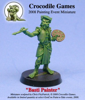 Basti Painter, sculpted by Chris FitzPatrick