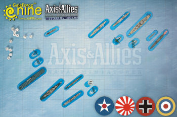 Tmp New Gf9 Accessories For Axis Amp Allies Naval Miniatures