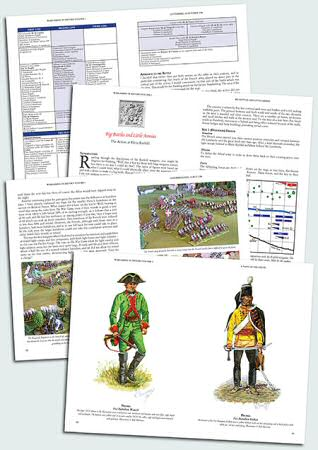 Wargaming in History, Volume 1 - sample spreads