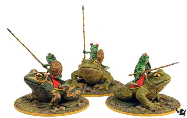 28mm Warrior Frog Cavalry