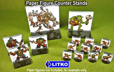 Litko Paper Counter Stands