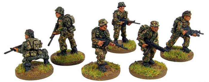NEW 28mm Australians in Vietnam. Sculpted by Mike Broadbent