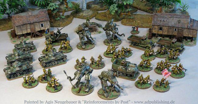 Japanese GK army