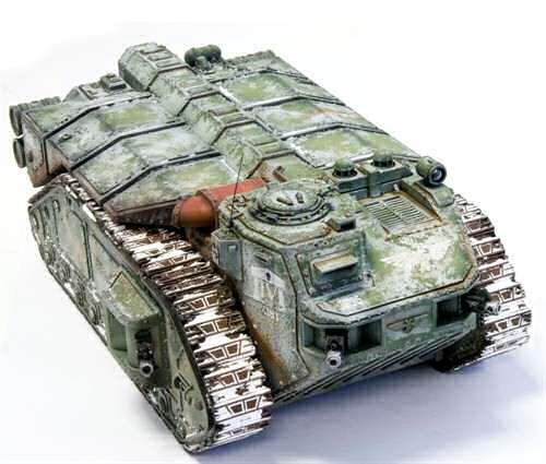 warhammer 40k how to build basilisk tanks