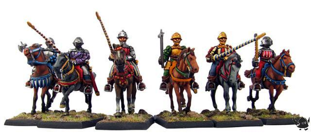28mm Italian Wars Gendarme 'Archers'