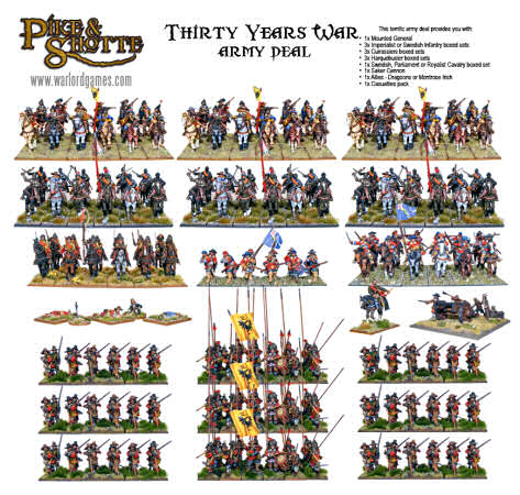 Thirty Years War Flags 28Mm