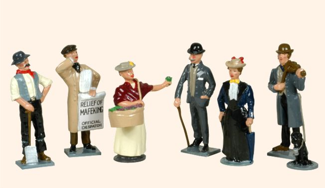Victorian Toy Soldiers http://theminiaturespage.com/news/?id=596126013