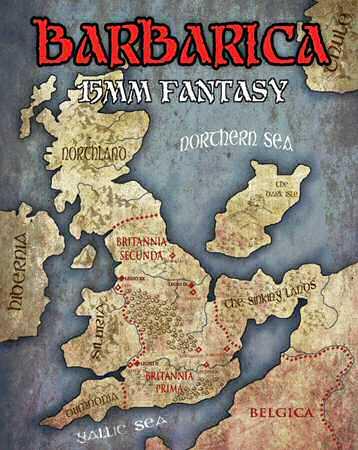 15mm Barbarica Fantasy  BARBARIANS  Copplestone Castings