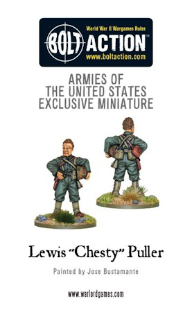 Chesty Puller figure