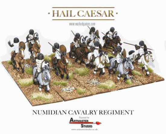 Auxiliary Numidian Cavalry Numidian Light Cavalry