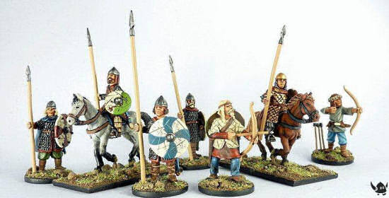 28mm Dark Ages Sampler