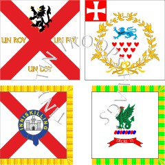 Ireland 1690 flag range