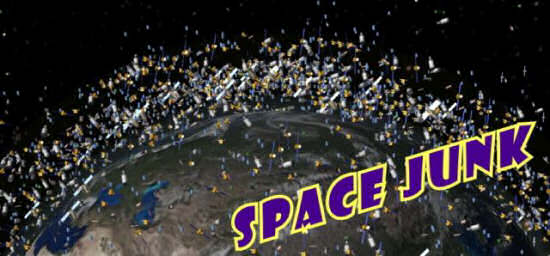 The Space Junk logo