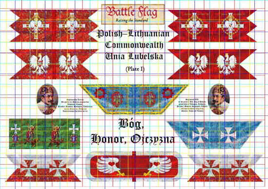 Flags of the Polish-Lithuanian Commonwealth