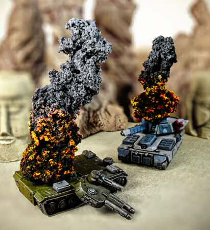 Fire & Smoke Counters on tanks