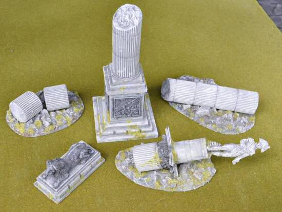 Nelsons Column Set
