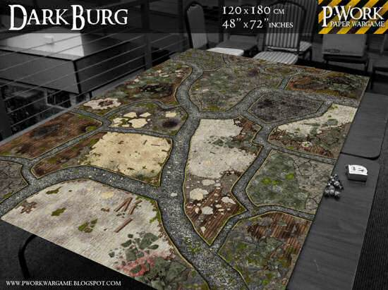 Tmp Battle Board Dark Burg Released