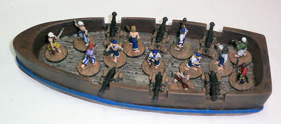 15mm six-gun ship