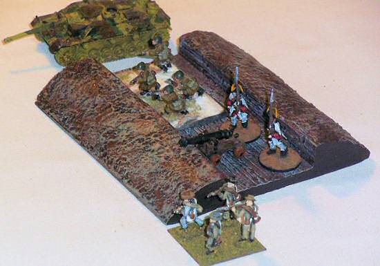 15mm straight trench