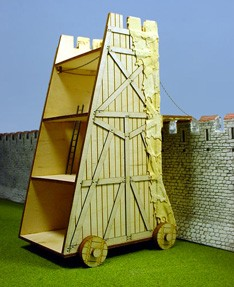 Vatican Siege Tower at H&A Castle wall