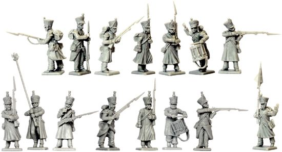 Middle Guard plastic figures