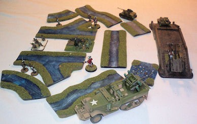 "Foxhole Terrain 2"" Rivers"