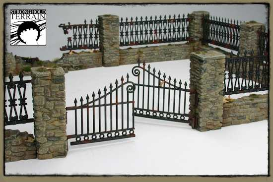 Gate and wall design