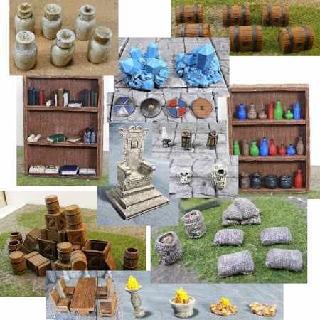 TMP] Itar's Workshop: Modular Dungeon & Accessories Terrain