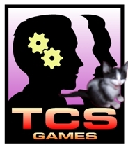 TCS Games logo