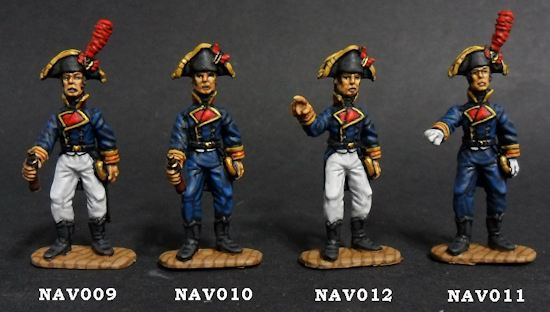Spanish naval officers