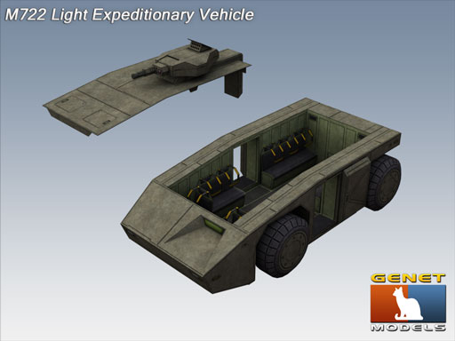 M722 Light Expeditionary Vehicle