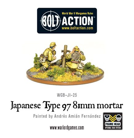 81mm Japanese Mortar Team