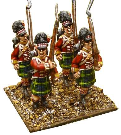 40mm Napoleonic Gordon Highlanders