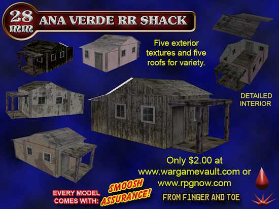 Ana Verde RR Shack Box Art