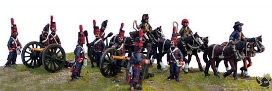 French Horse Artillery and Limbers
