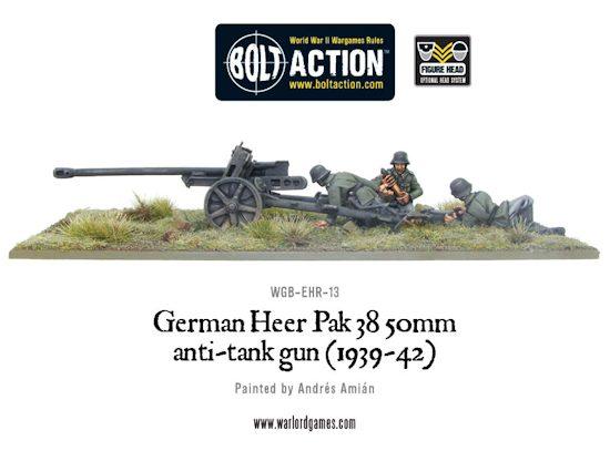 German 50 Mm Anti Tank Gun: [TMP] Bolt Action German Heer PaK 38 Anti-Tank Gun (1939