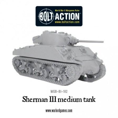 TMP] Bolt Action Sherman III Medium Tank Released