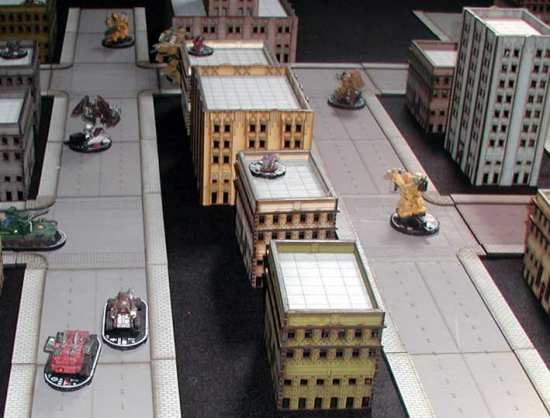 TMP] 10mm Pre-Painted Sci-Fi/Modern Buildings Available Now From