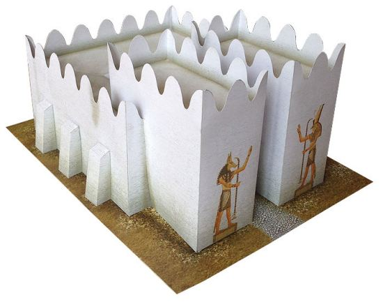 Ancient Egyptian fortification for DBA