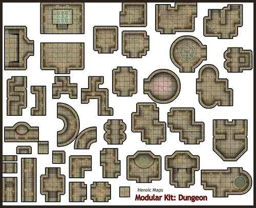 Tmp Modular Kit Dungeon Available