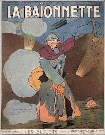 La Baionnette No. 44: Les Bleuets (The Bayonet No. 44: The Blueberries)