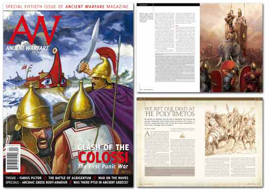 AW Issue IX.4 Clash of the Colossi the First Punic War
