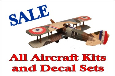 Aircraft & Decal Sale