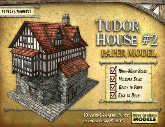 TMP] Tudor House #2 Paper Model Released