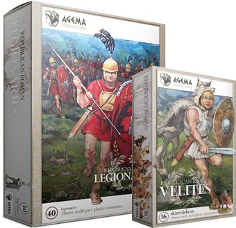 Velites and Legionaries boxed sets