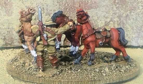 15mm WWI Australian Horse Holders
