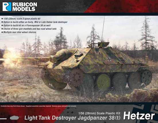 Light Tank Destroyer Jagdpanzer 38(t) Hetzer