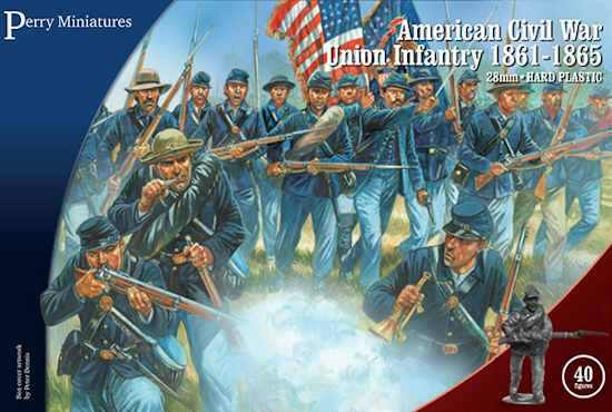 Perry Union ACW Hard Plastic Infantry: American Civil War Union Infantry 1861-65