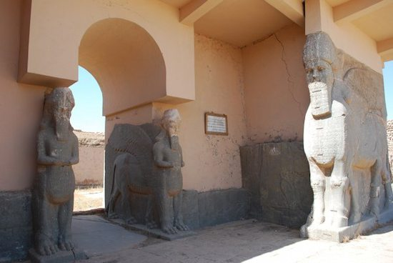 Northwest gate of Nimrud in 2008 (photo Diane Siebrandt)